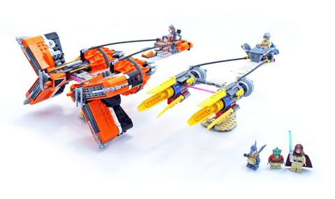 Anakin's & Sebulba's Podracers - LEGO set #7962-1
