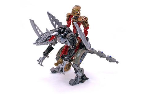 Toa Lhikan and Kikanalo - LEGO #8811