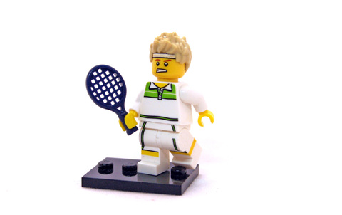 Tennis Ace - Minifigure Series 7 - LEGO #8831