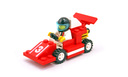Red Race Car Number 3 - LEGO set #1477-1