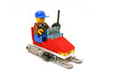 Snowmobile - LEGO set #1710-1