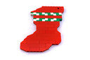 Holiday Stocking - LEGO set #40023-1