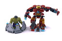 The Hulk Buster Smash - LEGO set #76031-1
