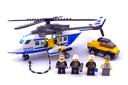 Police Helicopter - LEGO set #3658-1