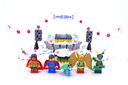 The Justice League Anniversary Party - LEGO set #70919-1