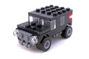 Black SUV polybag - LEGO set #7602-1