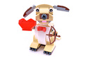 Valentine's Cupid Dog - LEGO set #40201-1