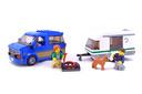 Van & Caravan - LEGO set #60117-1