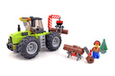 Forest Tractor - LEGO set #60181-1