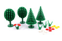 Trees and Flowers - LEGO set #6305-1