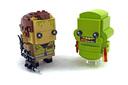 Peter Venkman & Slimer - LEGO set #41622-1