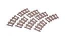 Curved Tracks - LEGO set #4520-1