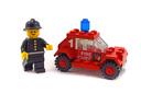 Fire Chief's Car - LEGO set #602-1