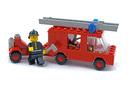 Emergency Van (Fire) - LEGO set #556-1