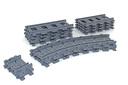 Flexible and Straight Tracks - LEGO set #7499-1