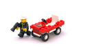 Fire Chief's Car - LEGO set #6612-1
