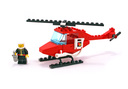 Fire Patrol Copter - LEGO set #6657-1