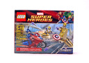 Captain America's Avenging Cycle - LEGO set #6865-1 (NISB)
