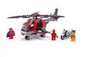 Wolverine's Chopper Showdown - LEGO set #6866-1