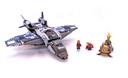 Quinjet Aerial Battle - LEGO set #6869-1