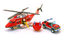 Fire Helicopter - LEGO set #7206-1