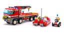 Off-Road Fire Truck & Fireboat - LEGO set #7213-1