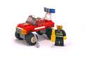 Fire Car - LEGO set #7241-1