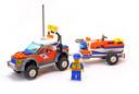 Coast Guard 4WD & Jet Scooter - LEGO set #7737-1
