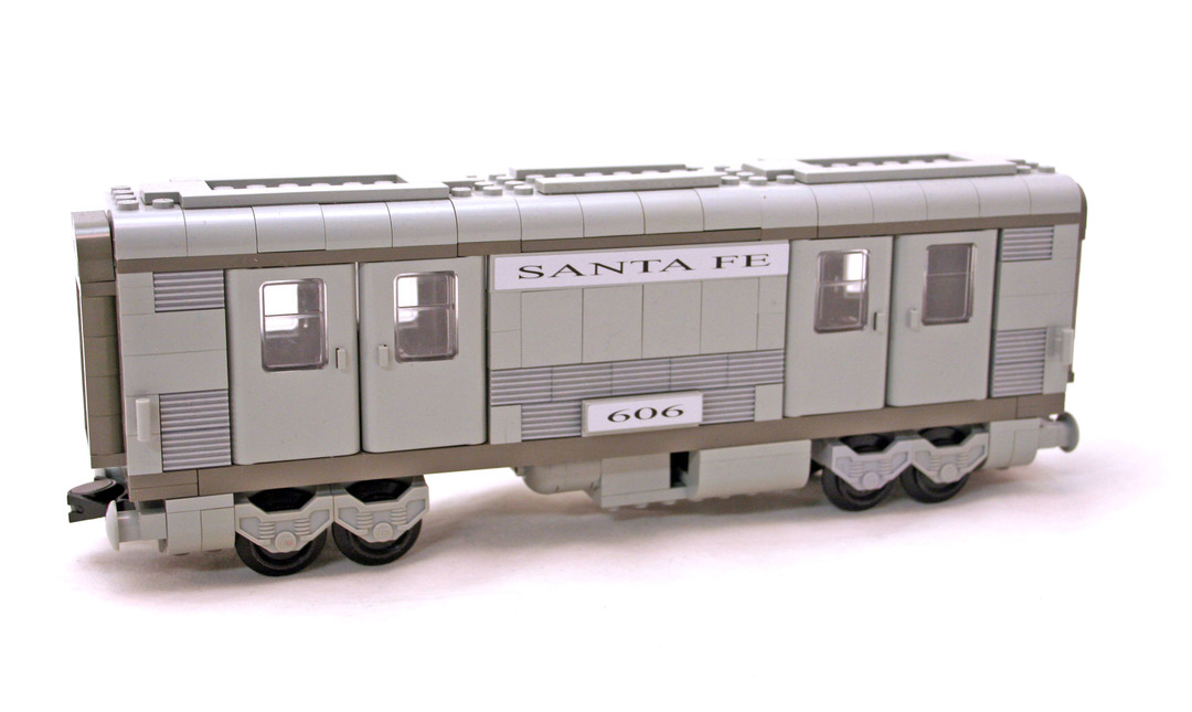 Santa Fe Cars - Set I - LEGO set #10025-1