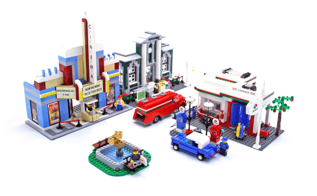 Town Plan Lego Set 10184 1 Building Sets City