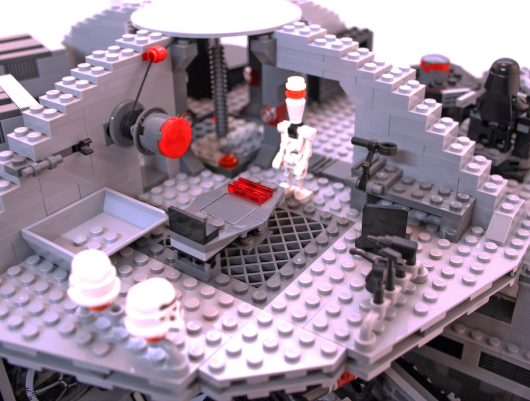 Instructions For The Lego Death Star Set Number 10188