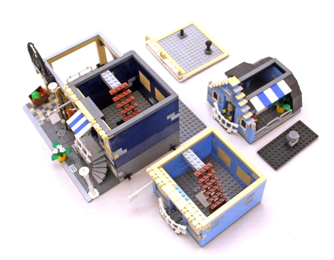 Market Street - LEGO set #10190-1 (Building Sets > City ...