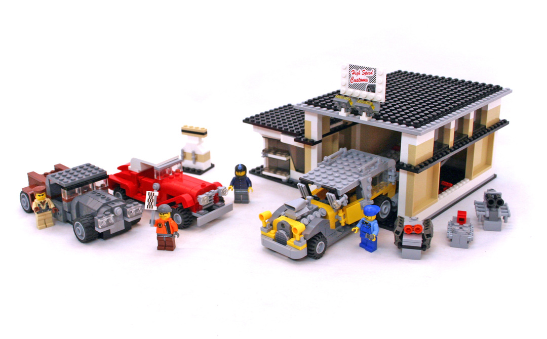 Custom Car Garage Lego Set 10200 1 Building Sets City World
