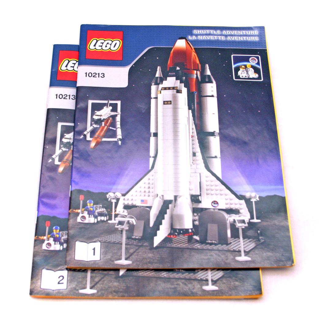 space shuttle lego set 10213 - photo #12