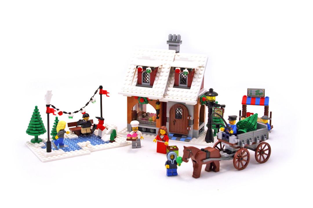 Winter Village Bakery Lego Set 10216 1 Building Sets Holiday