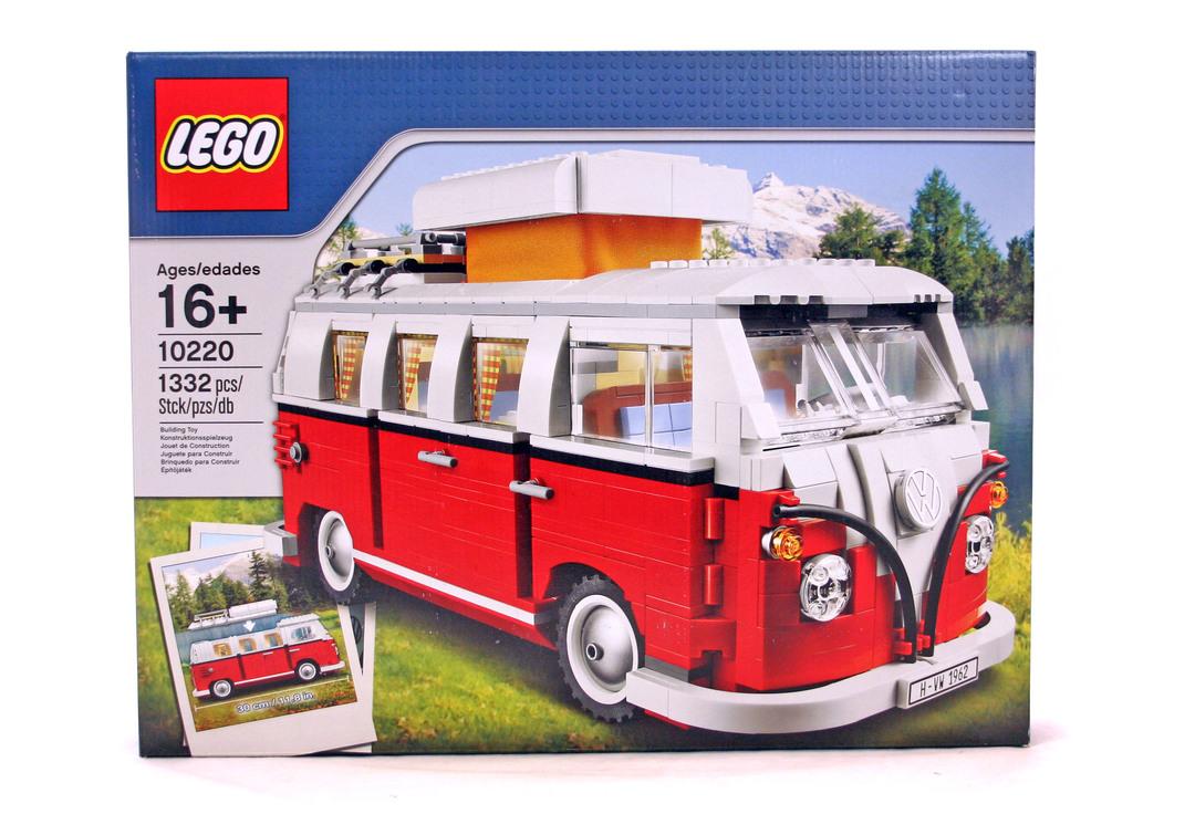 Volkswagen T1 Camper Van - LEGO set #10220-1 (NISB)