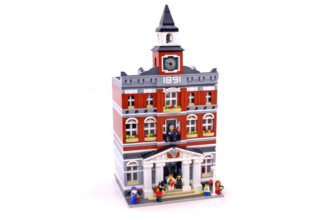 Town Hall - LEGO set #10224-1 - 1
