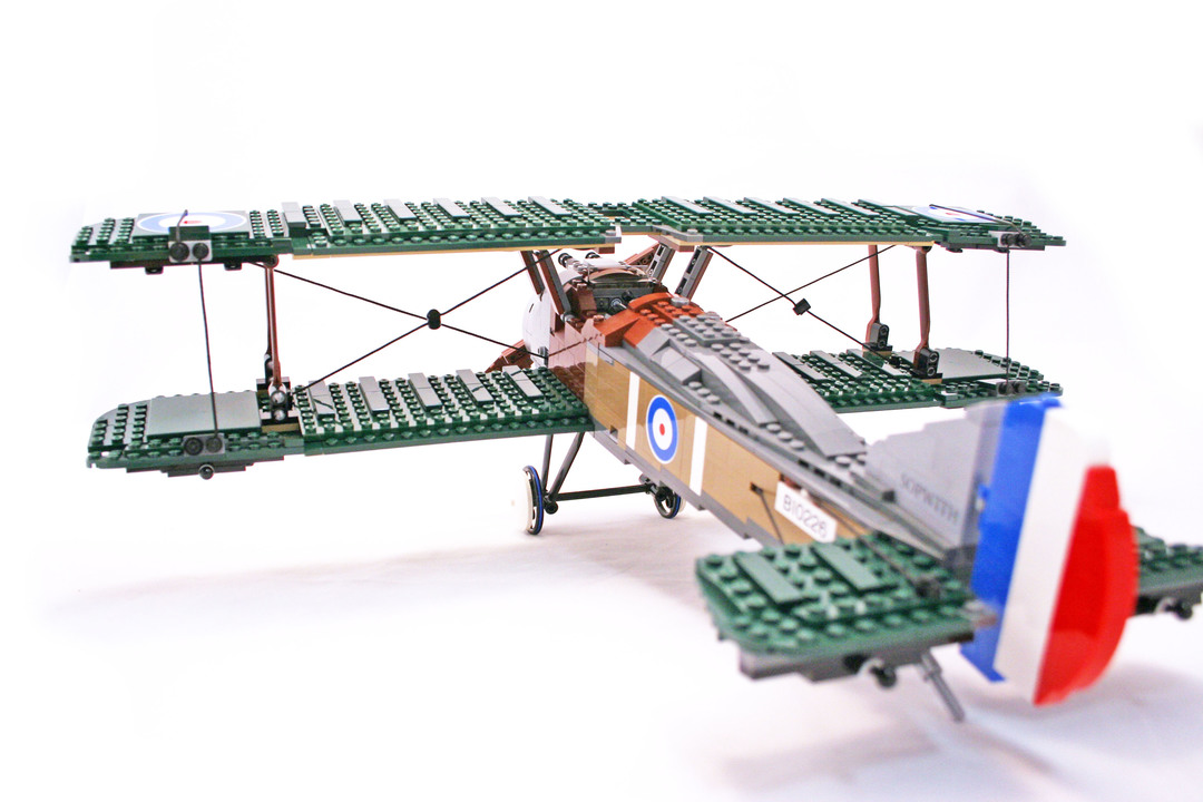 lego sopwith camel instructions