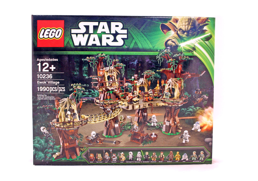 Ewok Village Lego Set 10236 1 Nisb Building Sets Star Wars