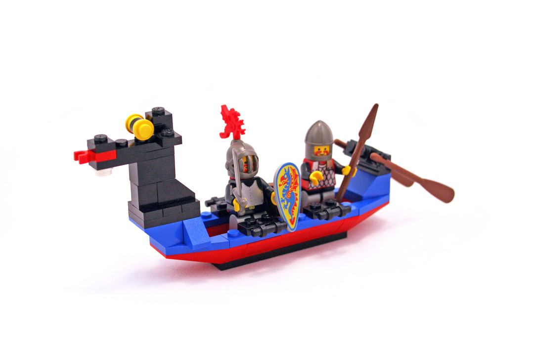 Black Knights Boat - LEGO set #1547-1 - 1