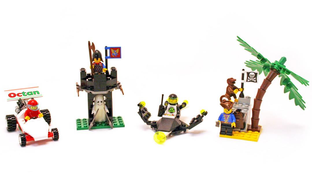 Four Set Value Pack - LEGO set #1891-1
