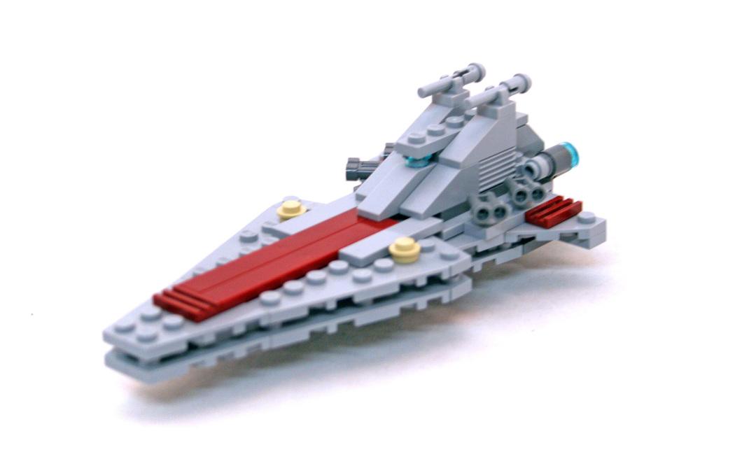 Republic Attack Cruiser - Mini - LEGO #20007 (Building Sets > Star Wars)