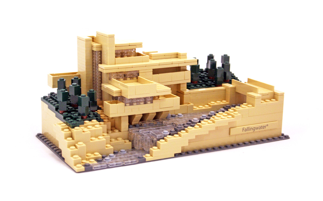 Fallingwater lego set 21005 1 building sets architecture - Falling waters lego ...