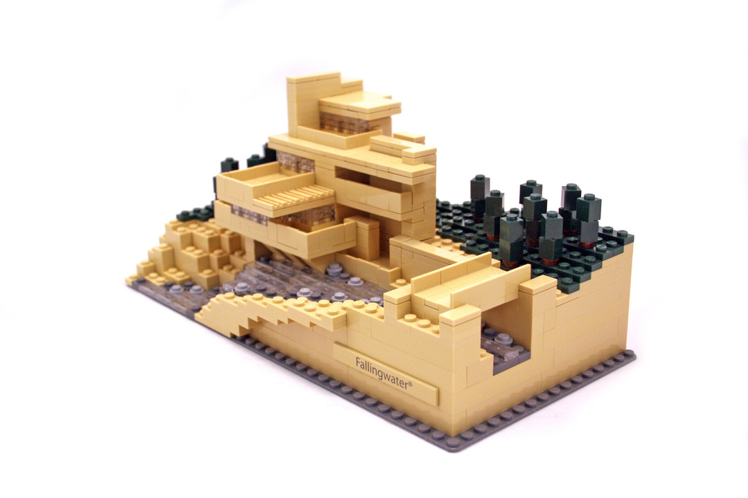 Fallingwater lego set 21005 1 building sets architecture - Lego falling waters ...