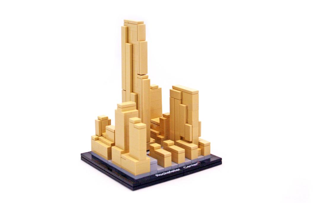 Rockefeller Center Lego Set 21007 1 Building Sets Architecture