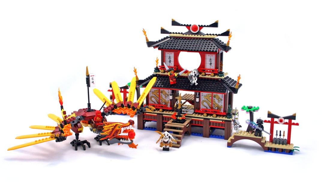 Fire Temple Lego Set 2507 1 Building Sets Ninjago
