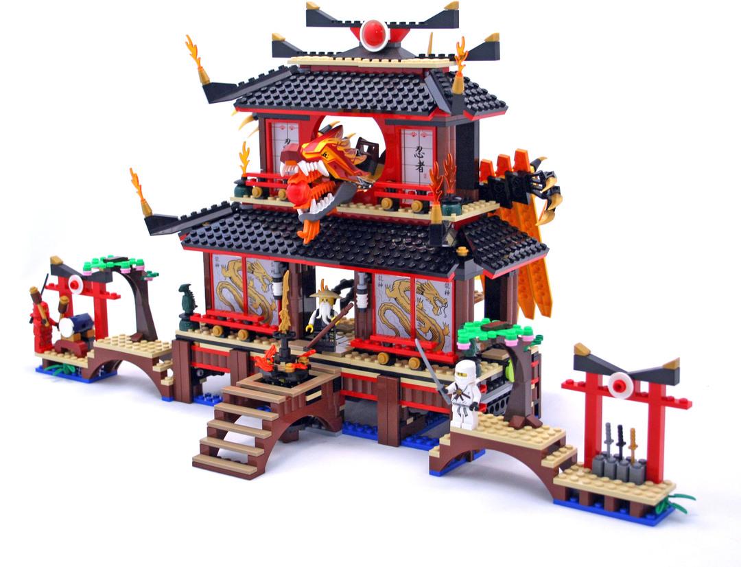 Ninjago Fire Temple Set