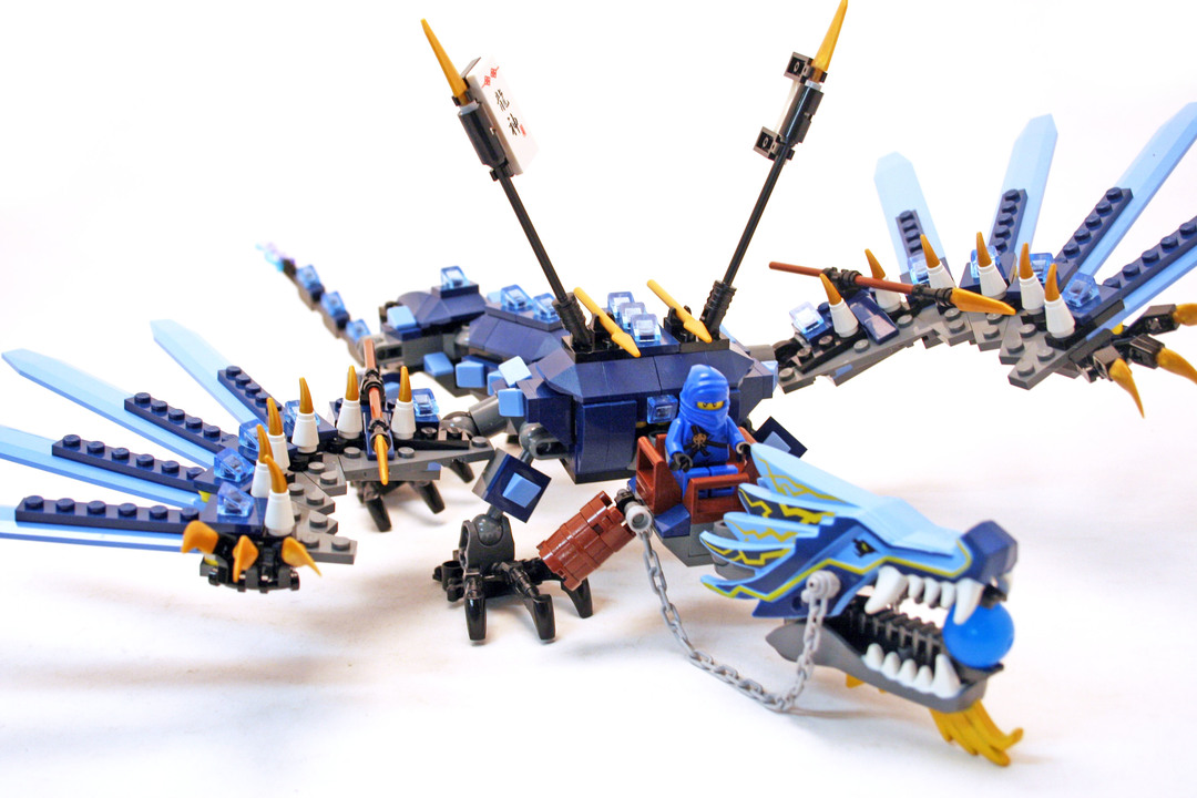 Lego Ninjago Elemental Lighting Dragon Minecraft Project