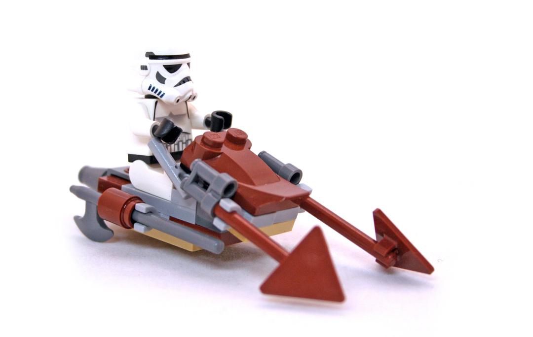Imperial Speeder Bike - LEGO set #30005-1
