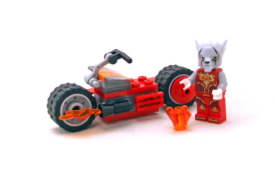WORRIZ/' FIRE BIKE CHIMA LEGO SET 30265
